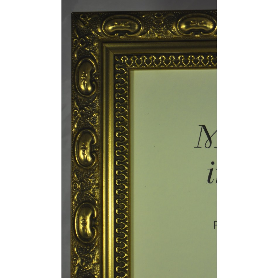 Ch3 Qualiy Wood Frame In Decorative Gold Packs Of 4