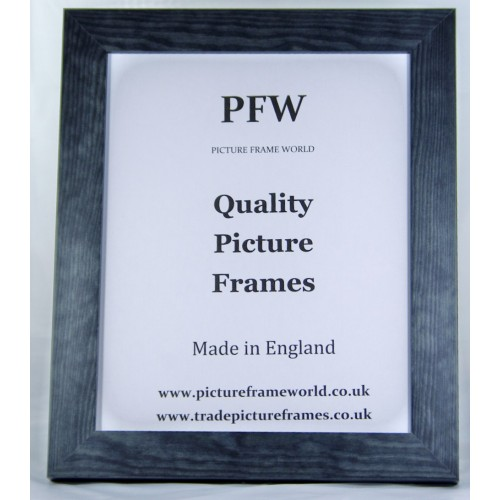 W14 QUALITY WOOD FRAME IN A GUNMETAL FINISH - Trade ...