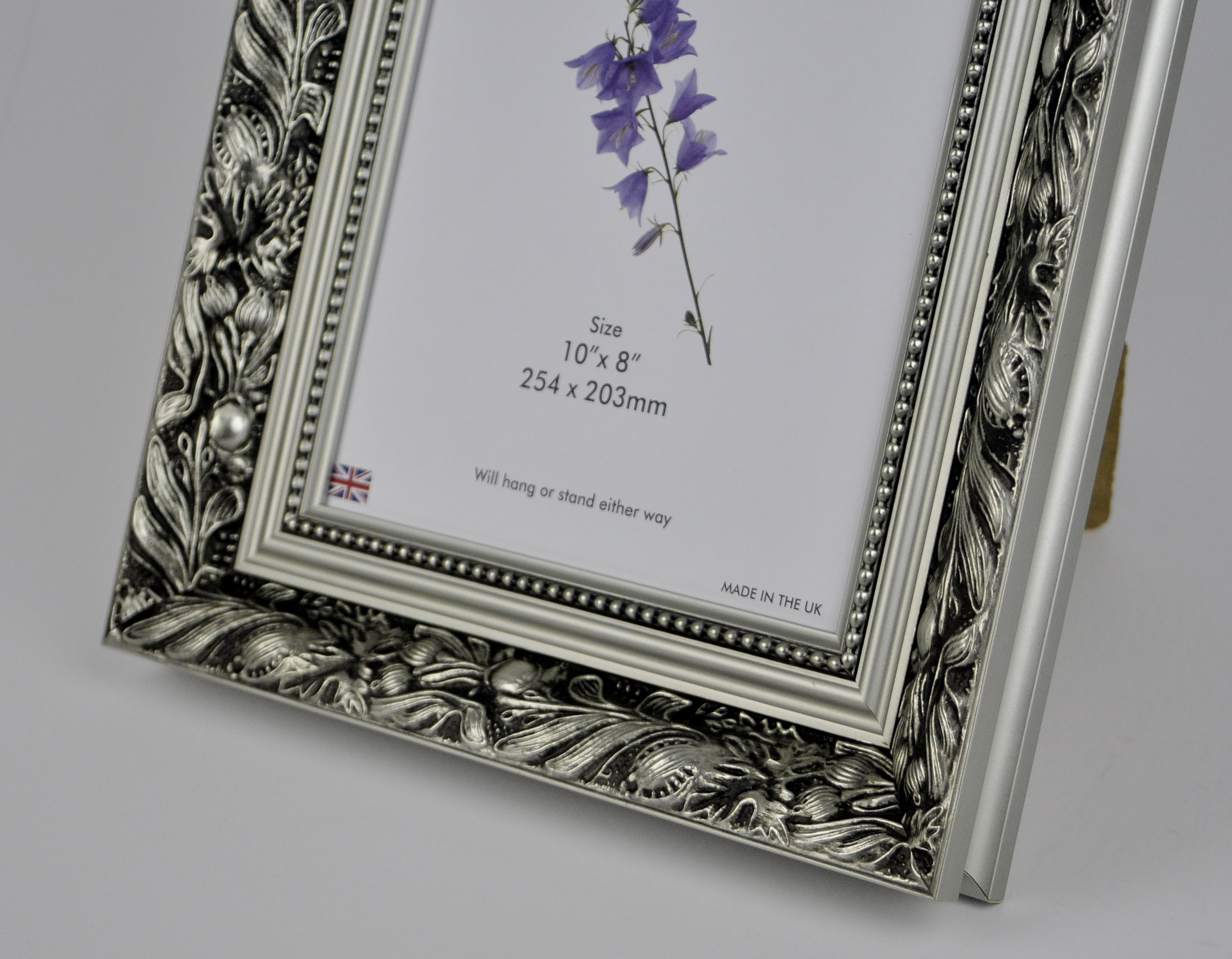 F5 Quality Wood Frame In Silver Dahlia Trade Picture Frames