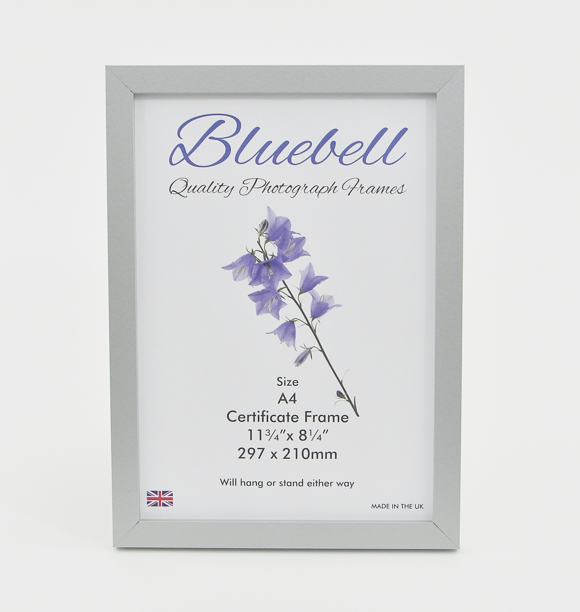A4 CERTIFICATE FRAME A31 SILVER (Packs of 10 Frames) - Trade Picture ...