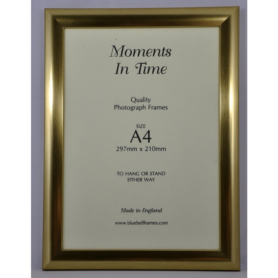 A4 Certificate Frame C51 Smooth Gold Pack Of 10 Trade
