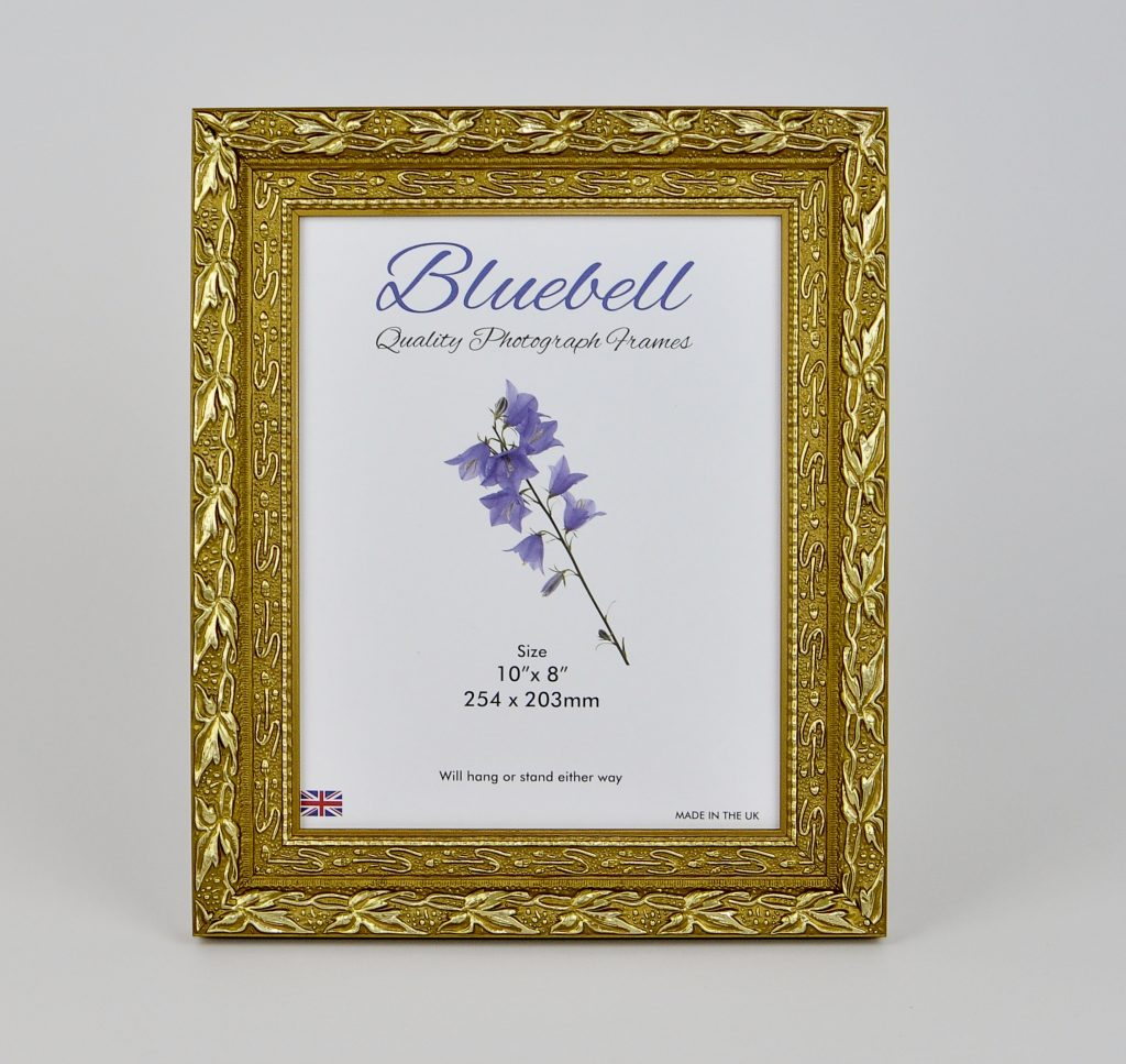 Ch1 Qualiy Wood Frame In Decorative Gold Packs Of 4