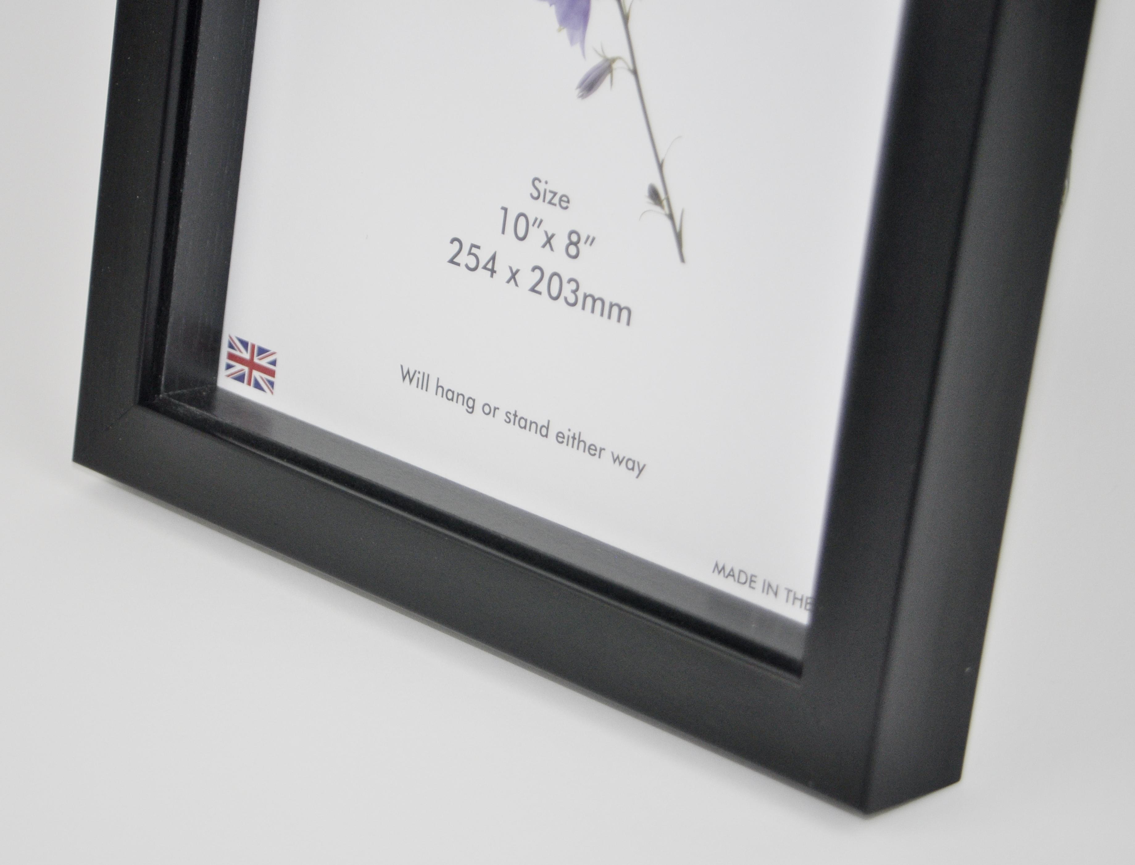 D10B BLACK BOX FRAME (Packs of 4 frames) - Trade Picture Frames