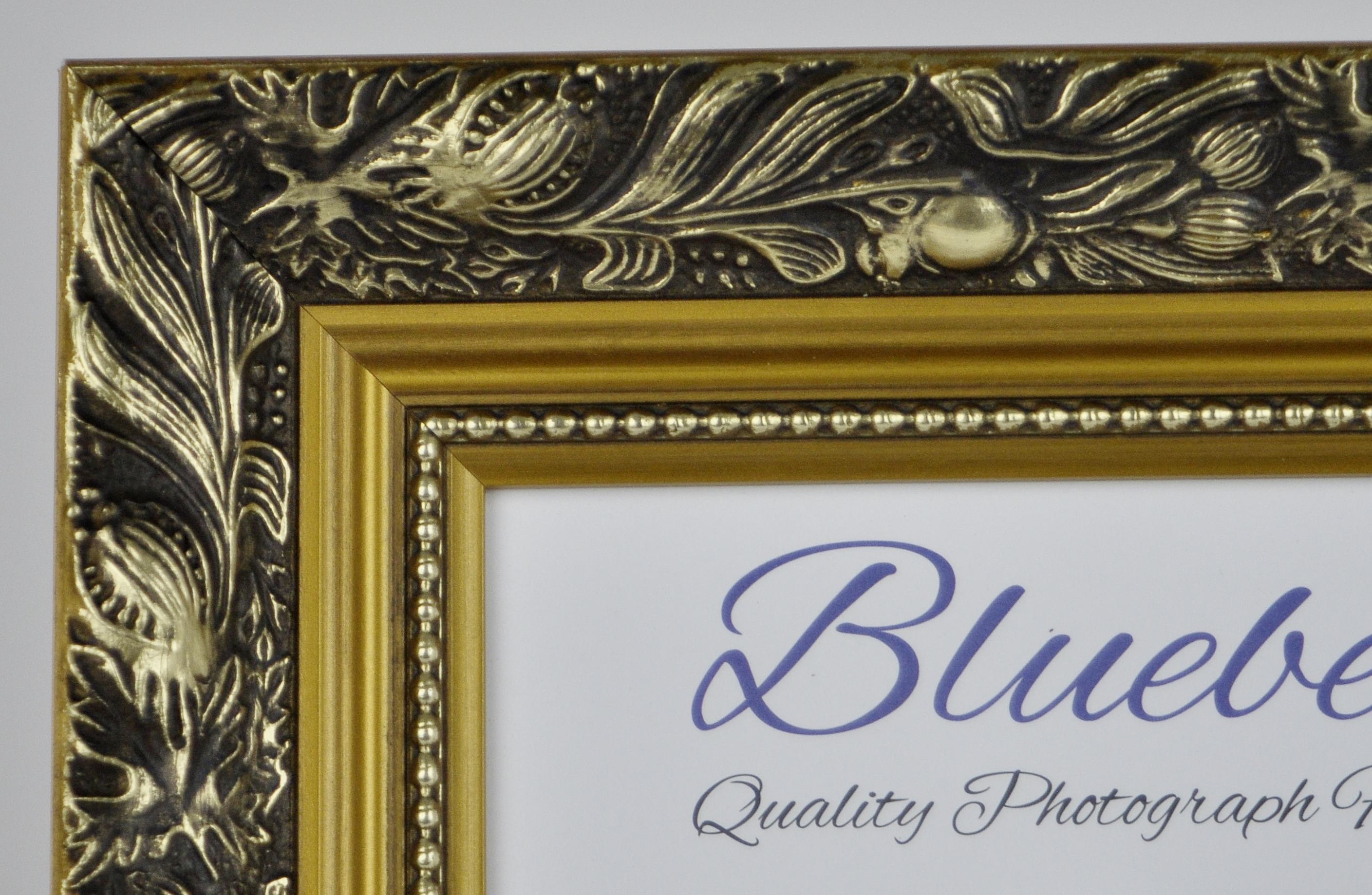 F4 Quality Wood Frame In Gold Dahlia Trade Picture Frames