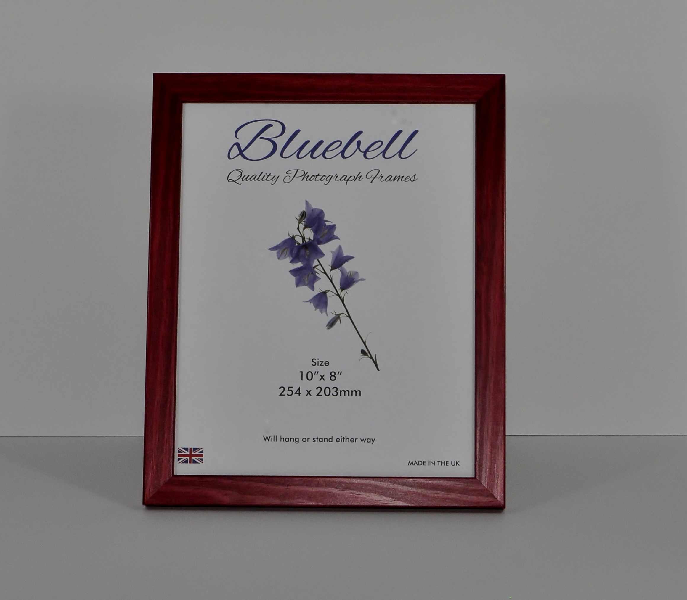 W43 Wood frame in a Red Rosewood finish (Packs of 4 frames) - Trade ...