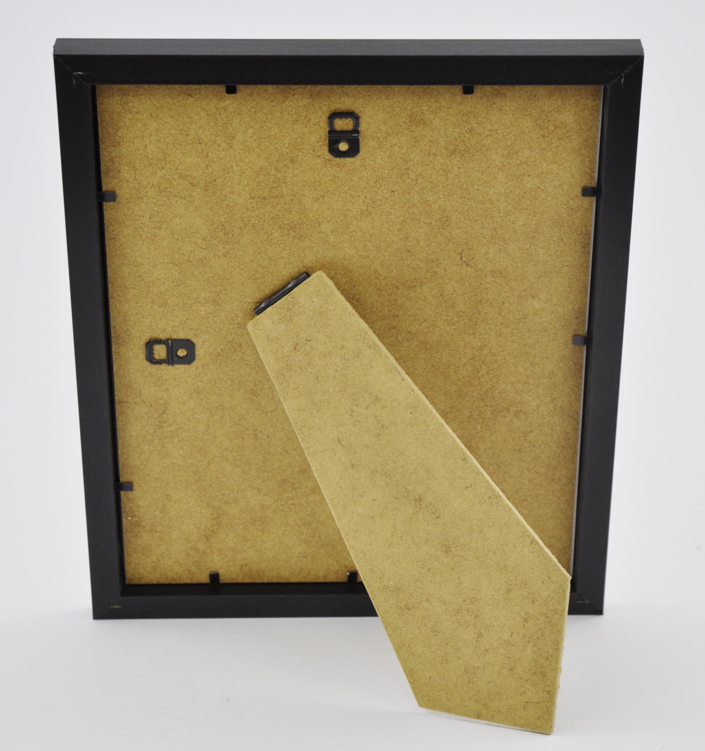 Basics Range A62 Matt Black Packs Of 10 Frames Trade